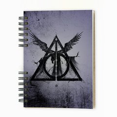 "Cuaderno Anillado ""Deadly Hallows"" en internet"