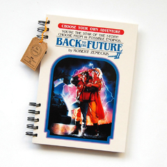 Cuaderno Anillado ETPA (Back to the future parte  II) En Stock