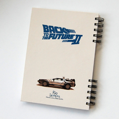 Cuaderno Anillado ETPA (Back to the future parte  II) En Stock - comprar online