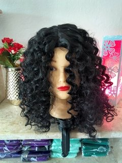 Lace Wig  WENG cacheada orgânica - comprar online