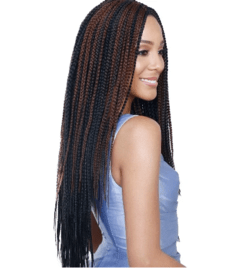 Senegal Bomba Box Braids Crochet Braid