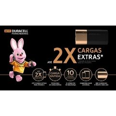Carregador Portátil 2X - 6700MAH DURACELL - POWER BANK na internet