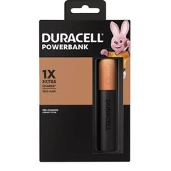Carregador Portátil DURACELL 1X 3350MAH - POWER BANK