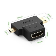 Adaptador Hdmi Fêmea P/ Mini Micro Hdmi Macho T Ugreen na internet