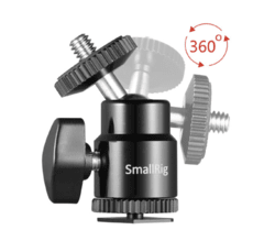 "SmallRig Camera Hot Shoe Mount with 1/4""-20 Screw Ball Head (2-Pack) - comprar online"