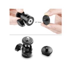 "Imagem do SmallRig Camera Hot Shoe Mount with 1/4""-20 Screw Ball Head (2-Pack)"