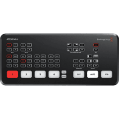 Blackmagic Design ATEM Mini HDMI Live Stream Switcher - Placa de captura e mesa de corte - comprar online