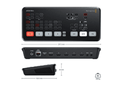Blackmagic Design ATEM Mini HDMI Live Stream Switcher - Placa de captura e mesa de corte - Loja do Filmmaker