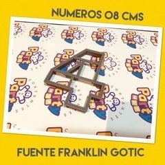 Cortante N° 4 Frankling x 8 cm - Cortantes Party