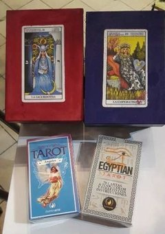 Set Cartas Tarot Con Caja Para Guardar en internet