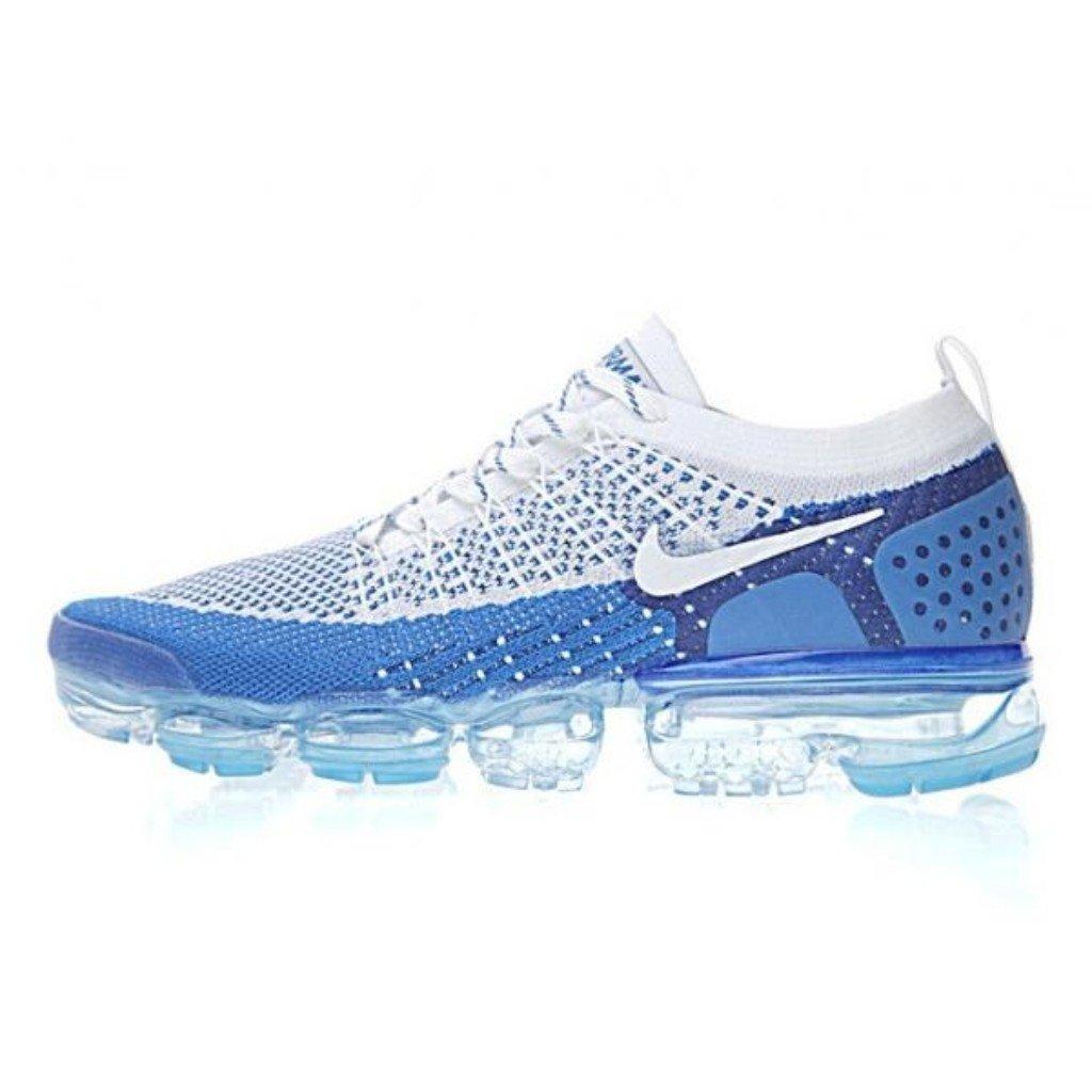 ac7a9a0f2fa Tênis Nike Air Vapormax Flyknit Azul Royal Branco