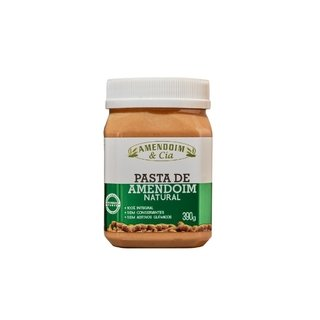PASTA DE AMENDOIM NATURAL AMENDOIM & CIA 390G
