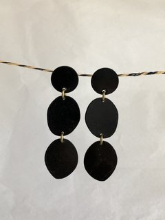 Three Pebbles Earrings - Sibilia