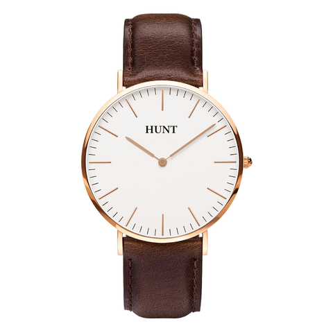 Malla Bristol Brown 20mm - HUNT Watches | Relojes HUNT