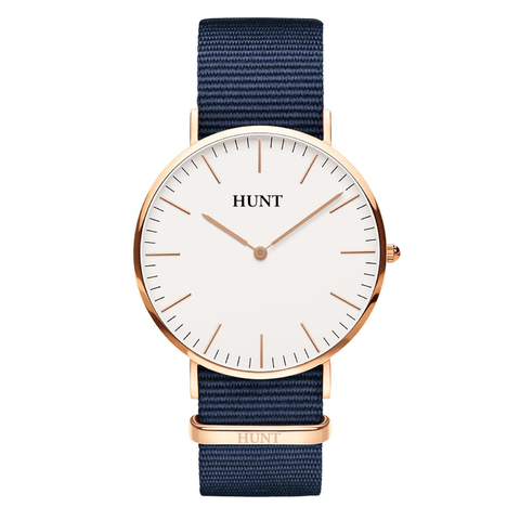Malla Navy Nato 20mm - HUNT Watches | Relojes HUNT