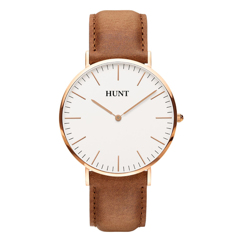 Malla Suede Brown 20mm - HUNT Watches | Relojes HUNT