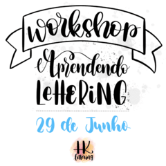 Workshop de Hand Lettering - SP
