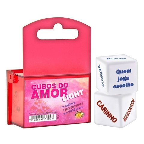 Dados do Amor Light Unissex Duplo Diversão ao Cubo | sex shop storesexy | sexy shop