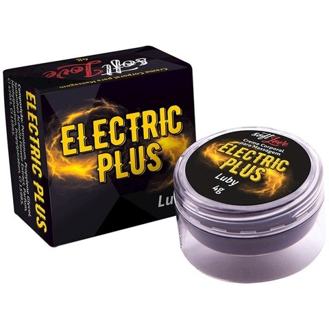 Eletric Plus Luby Creme Corporal para Massagem 4g Soft Love | distribuidor sex shop | atacado sex shop | sex shop soresexy