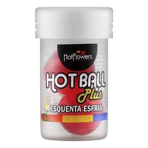 Hot Ball Plus Esquenta e Esfria - Hot Flowers | distribuidor sex shop | atacado sex shop | sex shop storesexy
