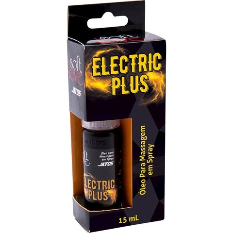 Óleo para Massagem em Spray Eletric Plus 15ml  - Soft Love | distribuidor sex shop | sex shop storesexy