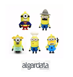 Pen Drive Pendrive Usb 8 Gb Minion Personaje