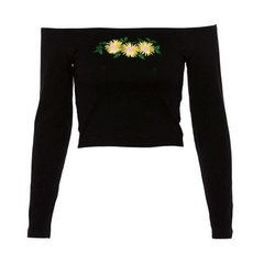 Cropped Sunflower - comprar online