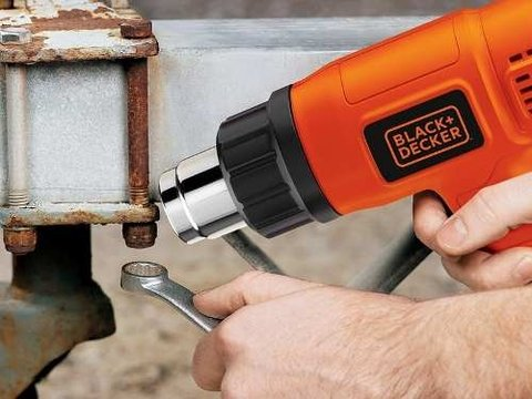 Pistola De Calor 1500w 2 Temperaturas Black&decker Hg1500 en internet