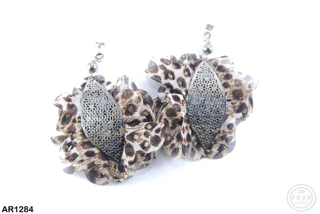 Aro animal print acero