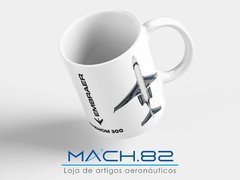 Caneca Embraer Phenom 300 na internet