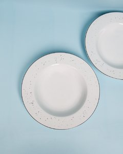 SET DE PLATOS SOPA COUPE X6UN