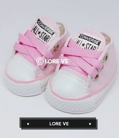 ZAPATILLAS LONA NO CAMINANTES #Rosa - LORE VE