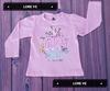 CAMISETA BEBE ALGODON HAPPY #Rosa