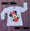 CAMISETA BEBA MINNIE #Blanca