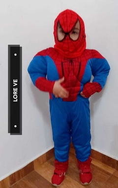 DISFRAZ CON MÚSCULOS SUPER HEROES #Spiderman - LORE VE