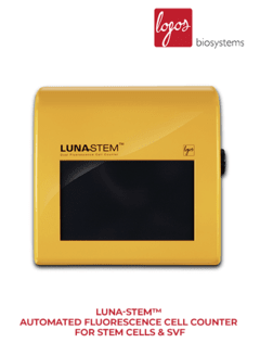 LUNA-STEM™ Automated Fluorescence Cell Counter for Stem Cells & SVF (L30001) LogosBio - comprar online