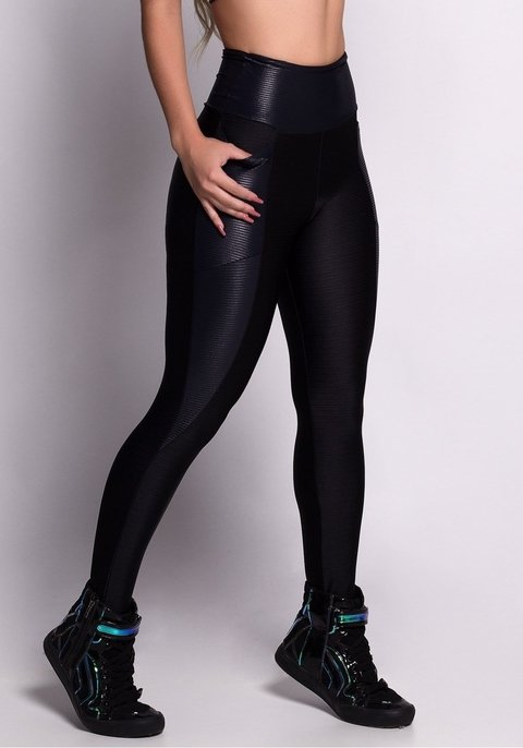 CALÇA LEGGING WIRES BLACK LINES