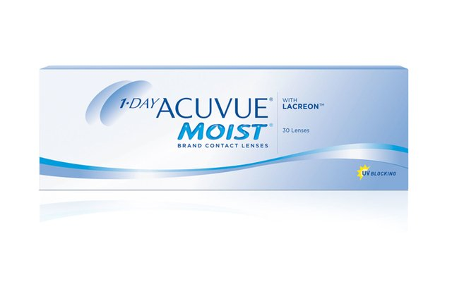 ACUVUE ONE DAY  MOIST Reemplazo diario (+0.50/+6.00) (-0.50/-12)