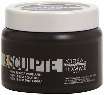L'Oreal Paris Homme Force 3 Sculpte Sculpting Fibre Paste - 150g