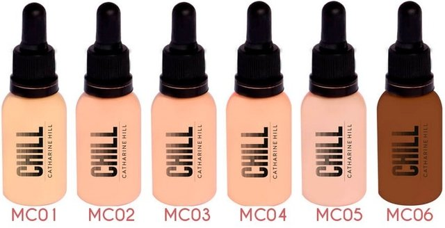 Imagem do Base Líquida Média Cobertura  Chill Catharine Hill - 30ml