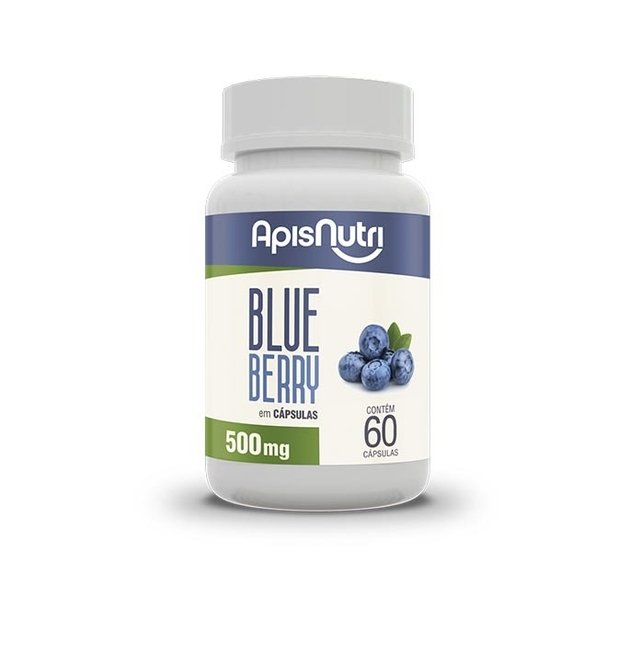 Blueberry ApisNutri - 60 caps 500 mg