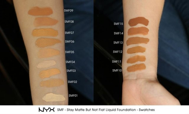 Base Liquido NYX Stay Matte But Not Flat - Natural - SMF02 na internet