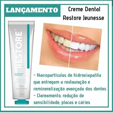 Restore Speed Withening Nano Repais Jeunesse - Creme Dental na internet