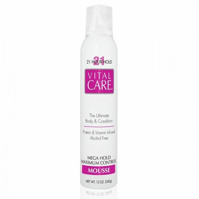 VITAL CARE - Mousse Mega Hold Maximum Control 21 horas - 340g