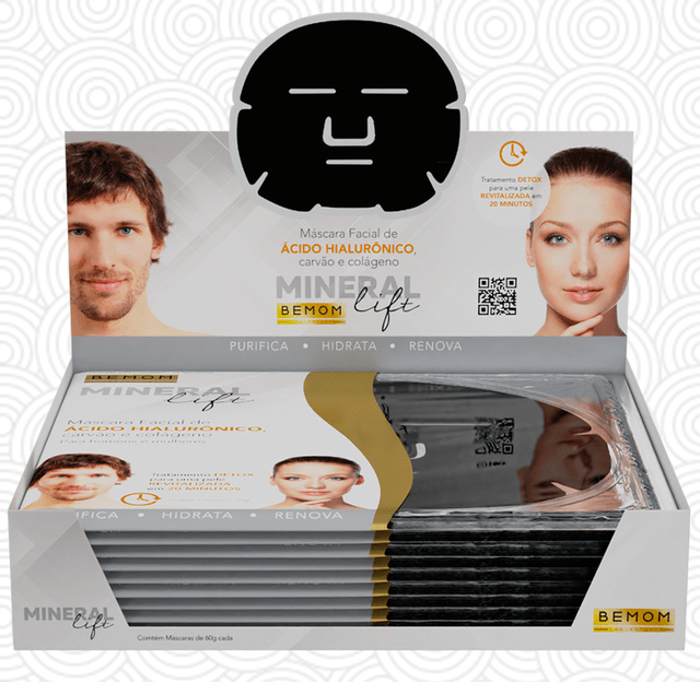 Máscara Facial Mineral Lift - 60g
