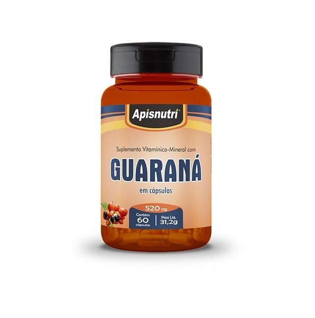Guaraná ApisNutri - 60 caps 520 mg