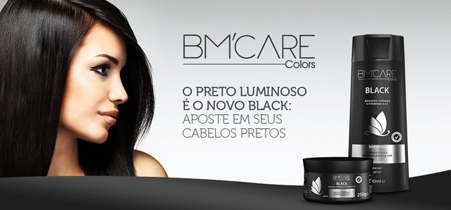 Shampoo BM'Care Colors Black - 300ml - comprar online