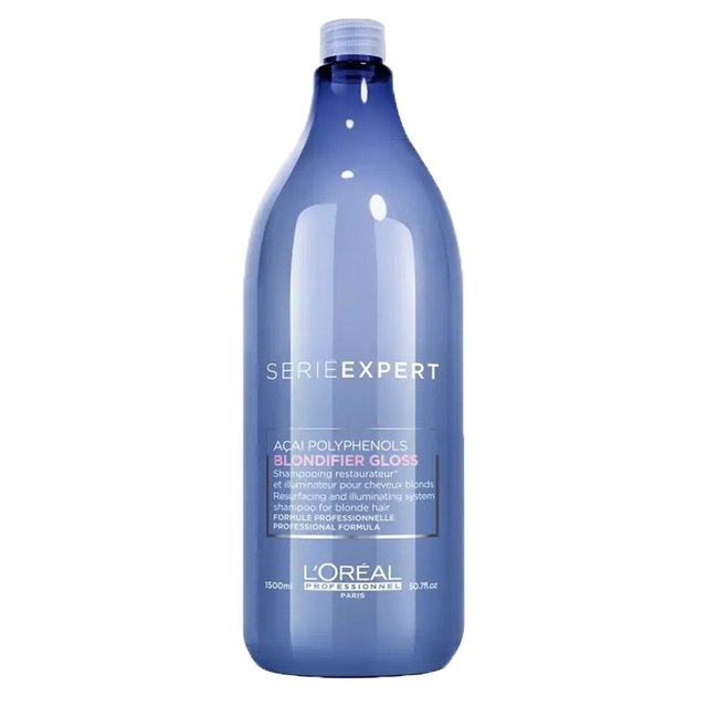 LOREAL PROFESSIONEL - Shampoo Série Expert Blondifier Gloss 1,5L