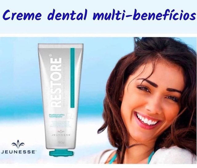 Restore Speed Withening Nano Repais Jeunesse - Creme Dental - Botti Professionale - @bottiloja