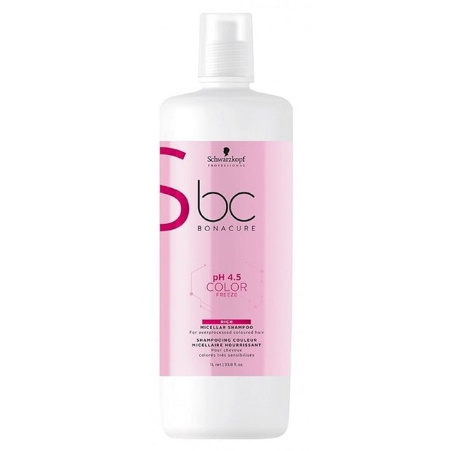 Shampoo Schwarzkopf Professional BC Bonacure pH 4.5 Color Freeze Micellar Rich -  1000ml